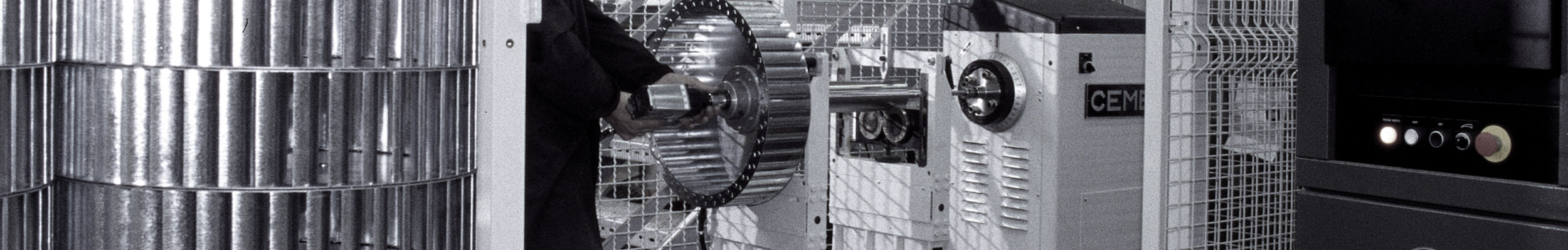 RL SERIES – Centrifugal fans with welded reverse curved blades